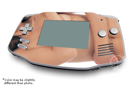 Sexy Girl Game Boy Advance Skin