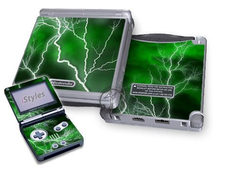 Apocalypse Green Game Boy Advance SP Skin