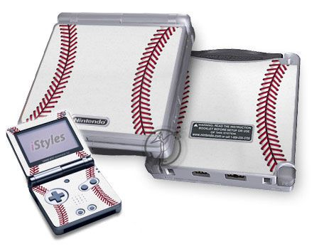 Baseball Game Boy Advance SP Skin