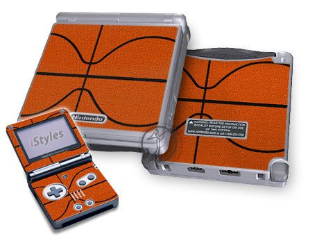 Basketball Game Boy Advance SP Skin