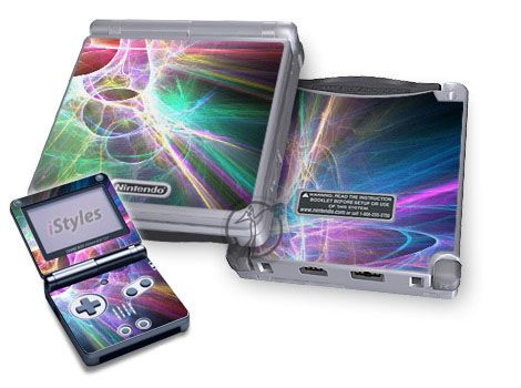 Static Discharge Game Boy Advance SP Skin