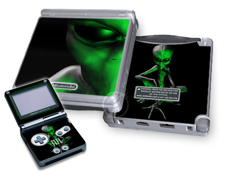 Abduction Game Boy Advance SP Skin