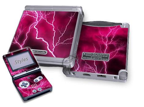 Apocalypse Pink Game Boy Advance SP Skin