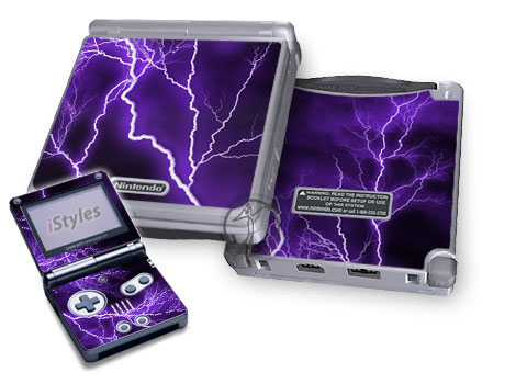 Apocalypse Violet Game Boy Advance SP Skin