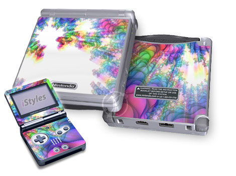 Flashback Game Boy Advance SP Skin
