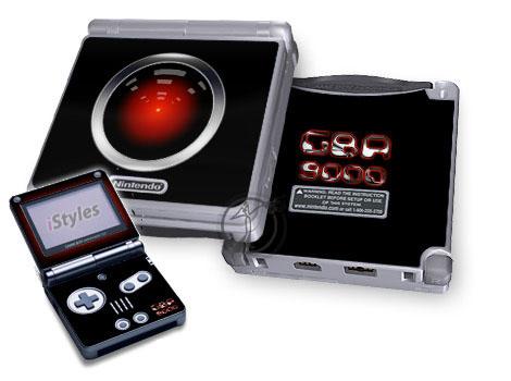 GBA 9000 Game Boy Advance SP Skin