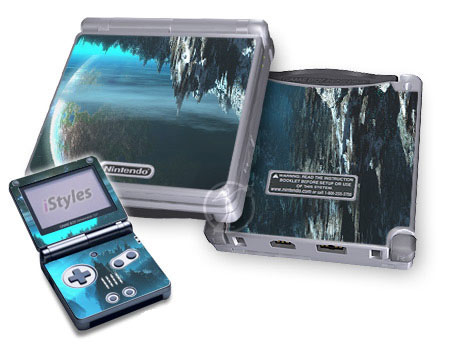 Path To The Stars Game Boy Advance SP Skin