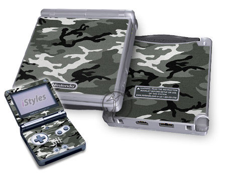 Urban Camo Game Boy Advance SP Skin