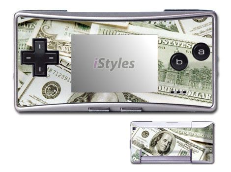 Benjamins Game Boy Micro Skin