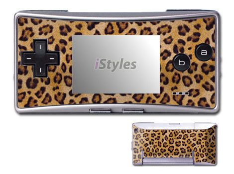 Leopard Game Boy Micro Skin
