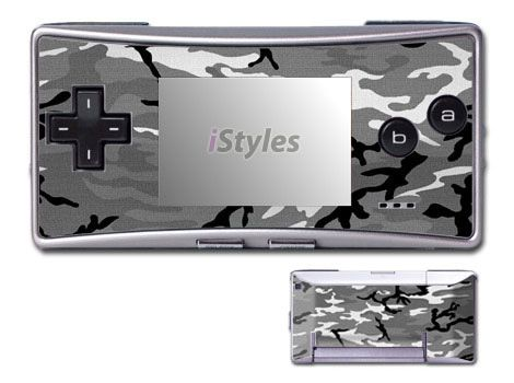 Urban Camo Game Boy Micro Skin