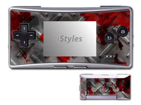 Accident Game Boy Micro Skin