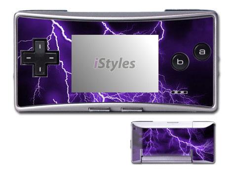 Apocalypse Violet Game Boy Micro Skin