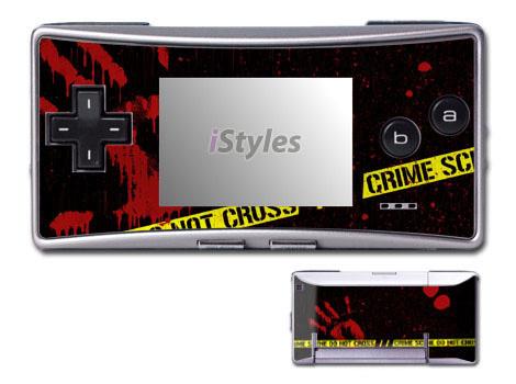 Crime Scene Game Boy Micro Skin