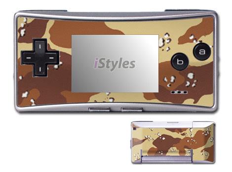 Desert Camo Game Boy Micro Skin