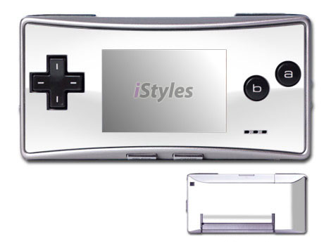 Solid State White Game Boy Micro Skin