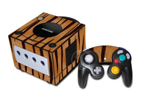Tiger Stripes GameCube Skin