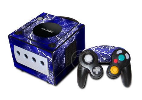 Apocalypse (Blue) GameCube Skin