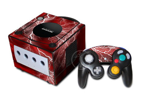 Apocalypse (Red) GameCube Skin
