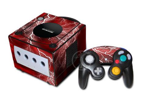 Apocalypse (Red) GameCube Skin