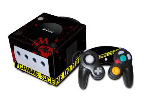 Crime Scene GameCube Skin