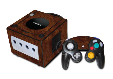 Old GameCube Skin design with brown colors