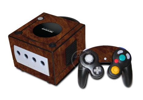 Dark Burlwood GameCube Skin