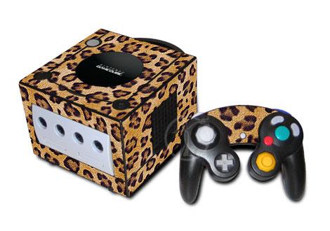 Leopard Print GameCube Skin