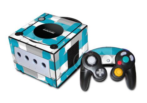 Neo Blue GameCube Skin