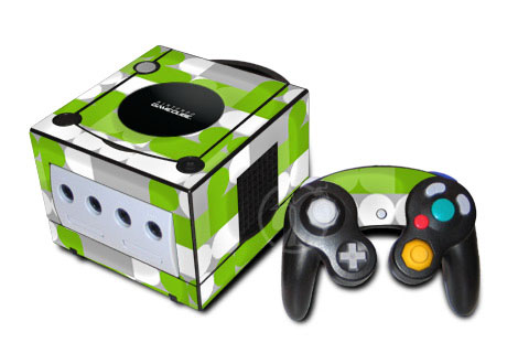 Neo Green GameCube Skin