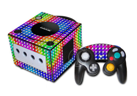 Rainbow Candy GameCube Skin