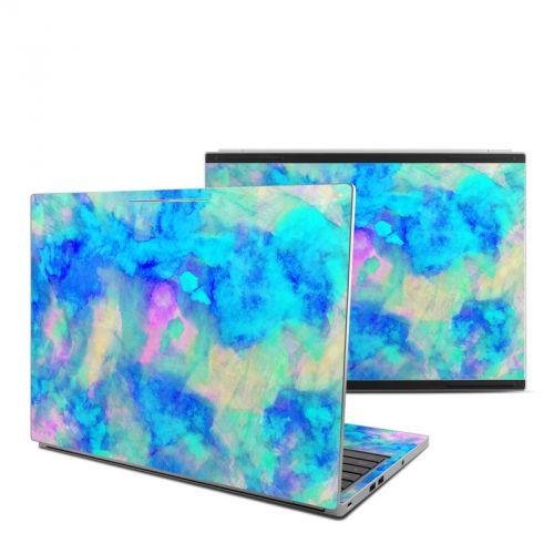 Electrify Ice Blue Chromebook Pixel Skin
