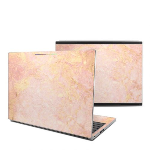 Rose Gold Marble Chromebook Pixel Skin