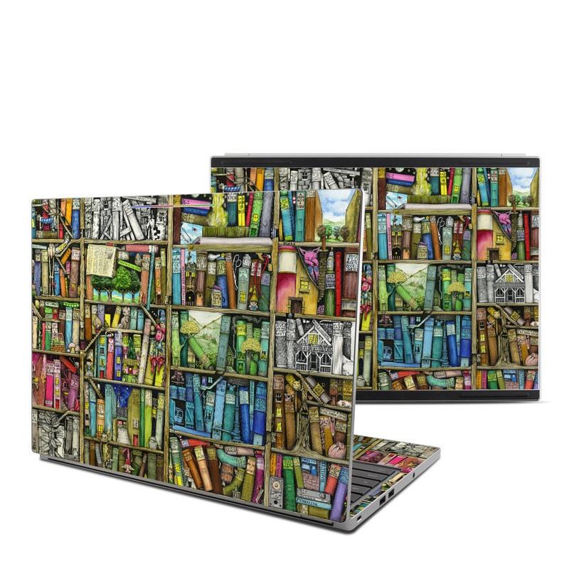 Bookshelf Chromebook Pixel Skin