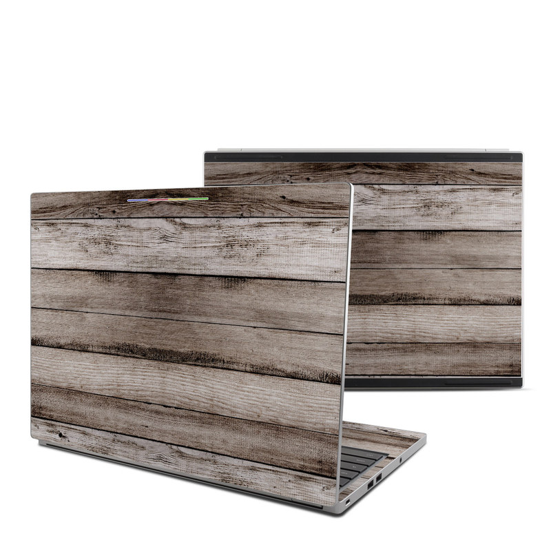 Barn Wood Chromebook Pixel Skin