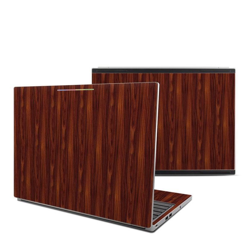 Dark Rosewood Chromebook Pixel Skin