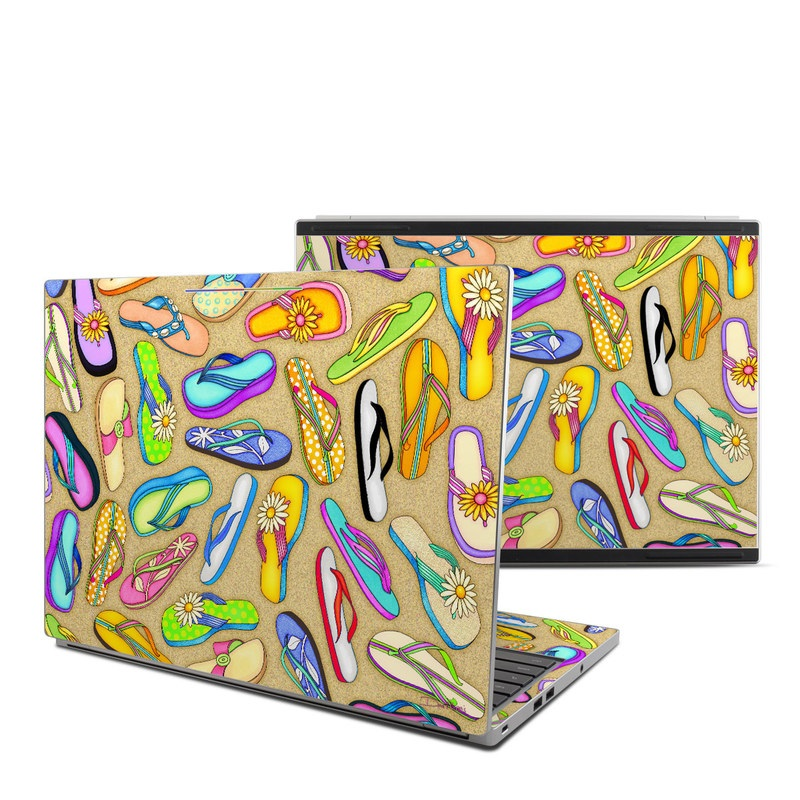 Flip Flops Chromebook Pixel Skin