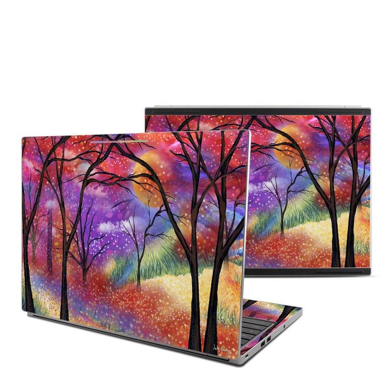 Moon Meadow Chromebook Pixel Skin