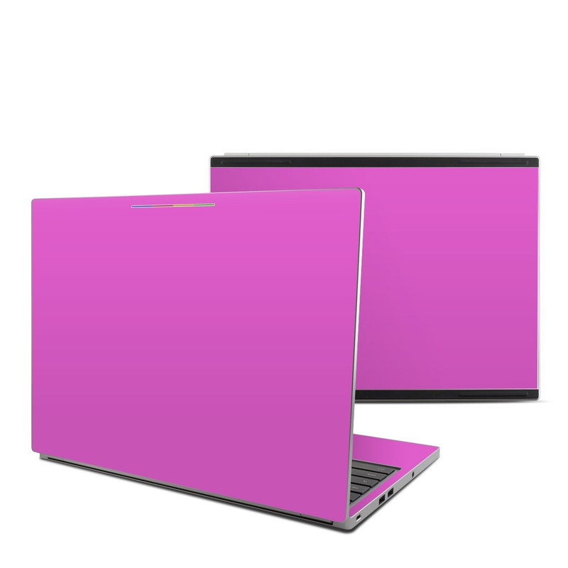 Solid State Vibrant Pink Chromebook Pixel Skin