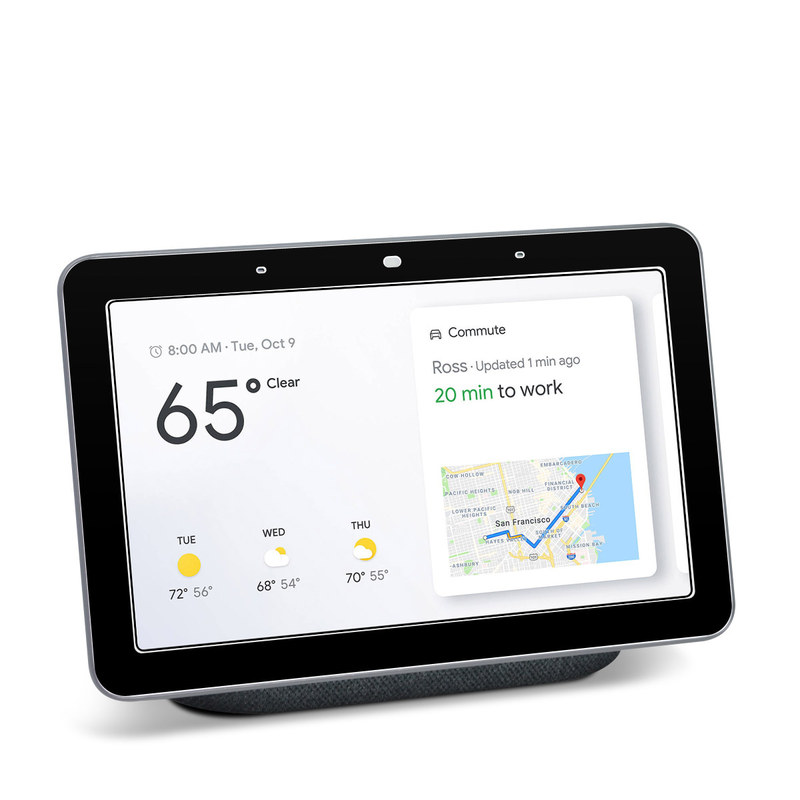 Google Home Hub Skin design of Black, Darkness, White, Sky, Light, Red, Text, Brown, Font, Atmosphere with black colors