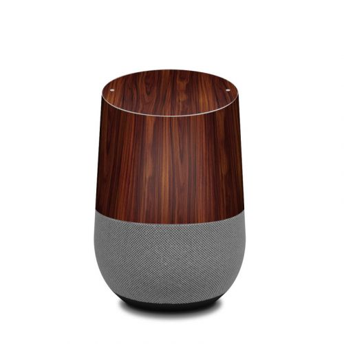 Dark Rosewood Google Home Skin