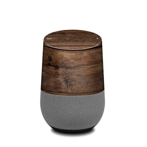 Stripped Wood Google Home Skin