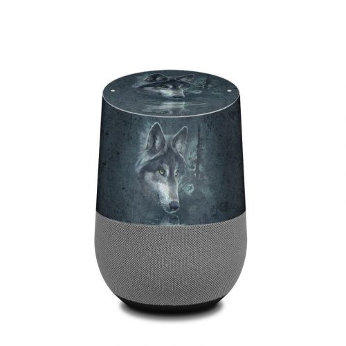 Wolf Reflection Google Home Skin