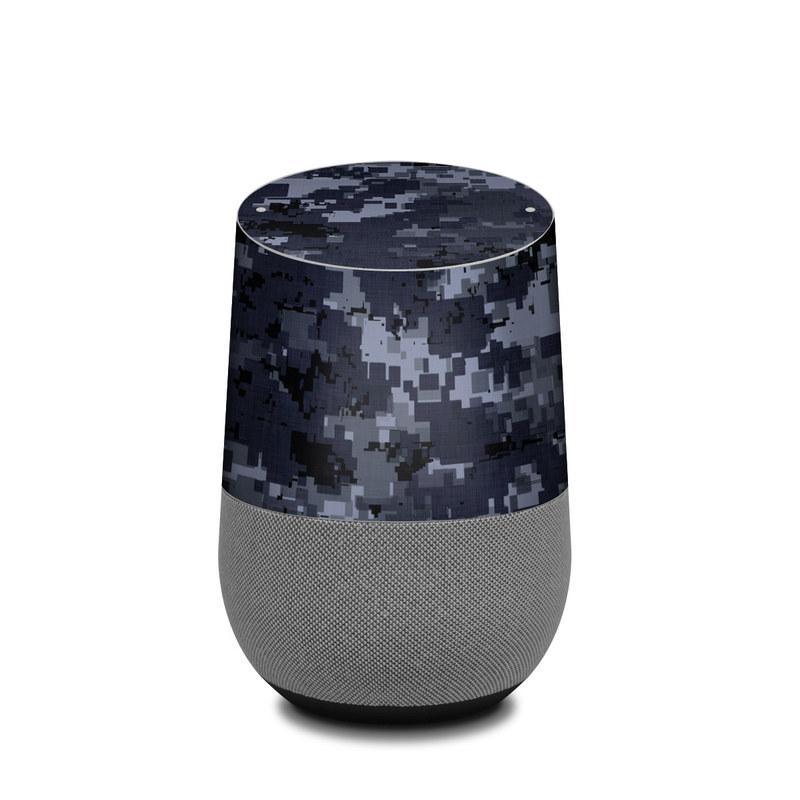 Digital Navy Camo Google Home Skin