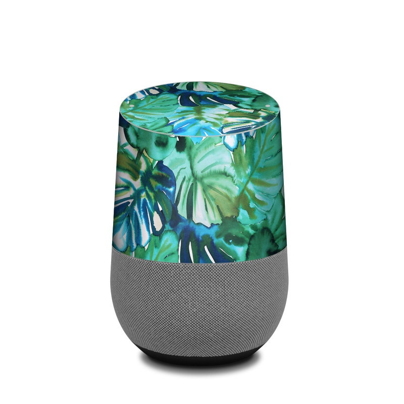 Jungle Palm Google Home Skin