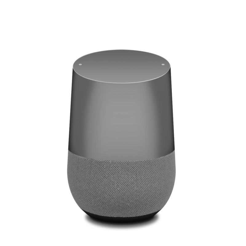 Solid State Grey Google Home Skin