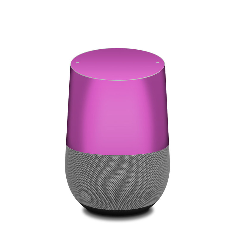 Google Home Skin design of Violet, Pink, Purple, Red, Lilac, Magenta, Blue, Lavender, Text, Sky with pink colors