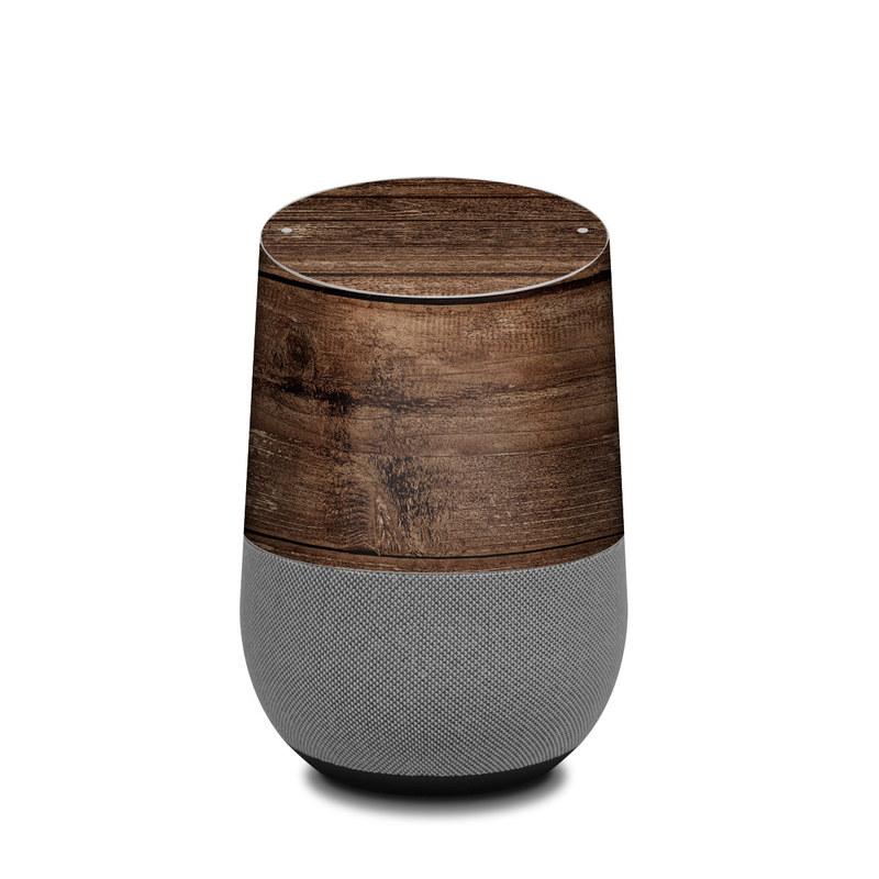 Stripped Wood Google Home Skin
