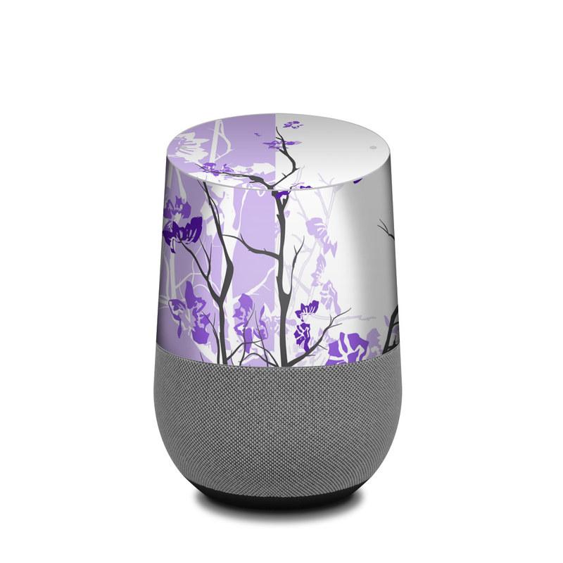 Violet Tranquility Google Home Skin
