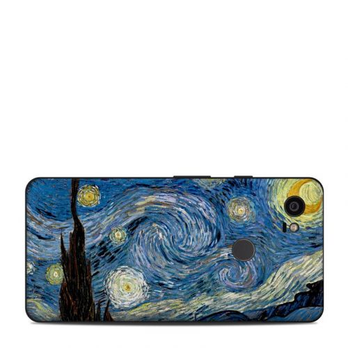 Starry Night Google Pixel 2 XL Skin